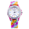 Rainbow Quartz Wristwatch