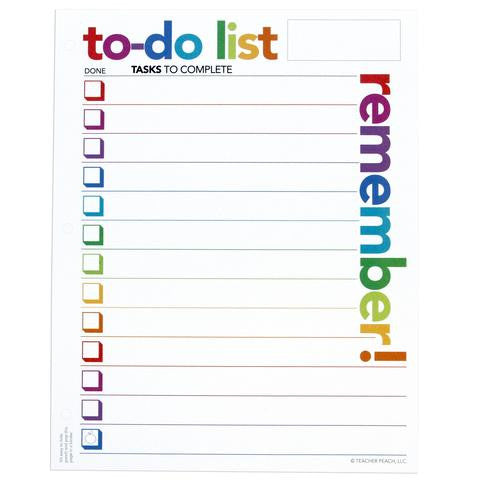 Organizer Notepad, To Do List