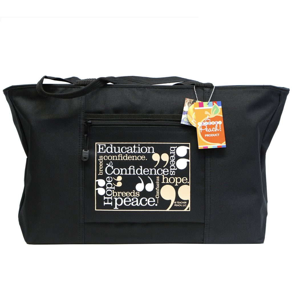 Teacher's Oversized Confidence Tote Bag