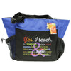 Teacher's Deluxe Rainbow Tote Bag