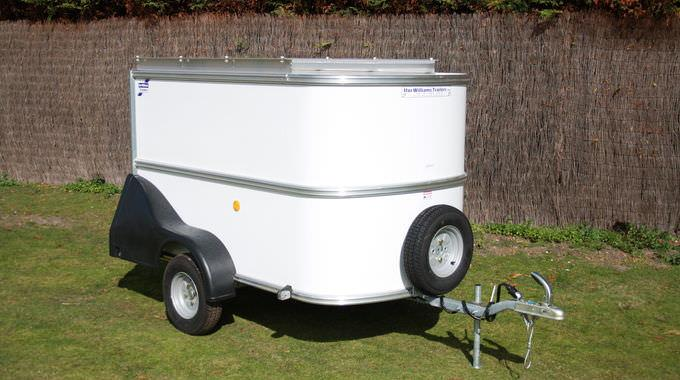 Image of Ifor Williams Boma Enclosed Box Van Trailer