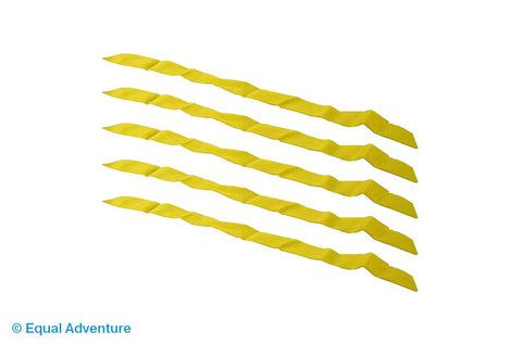 Image of Aquabac Adult Yellow Central Release Strap (Pack of 5)