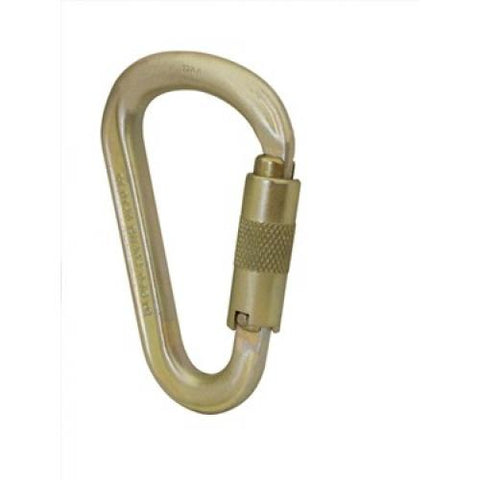 Image of 40KN HMS Steel Screw Lock Karabiner