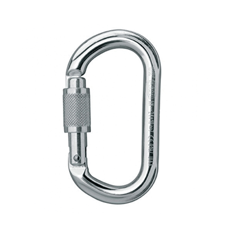 Image of Oval Screw Lock Karabiner