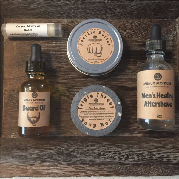 Natural Skin Care and Grooming Kits For Father's Day Gift