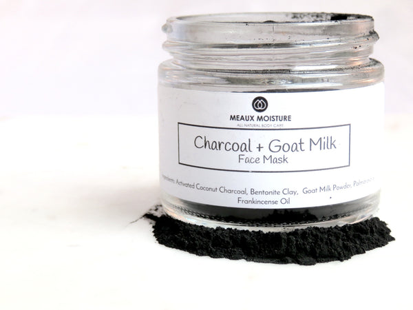 Charcoal+Goat Milk Face Mask
