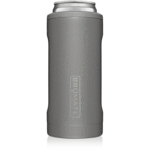 HOPSULATOR SLIM | MATTE GRAY (12OZ SLIM CANS)