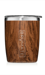 BRÜMATE ROCKS TUMBLER 12OZ | Walnut