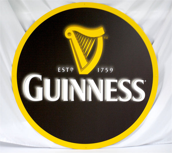 "Guinness 36"" Tin Sign"