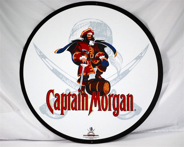 "Captain Morgan 24"" Tin Sign"