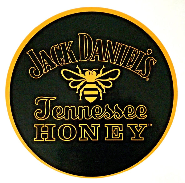 "Jack Daniel's Tennessee Honey 12"" Round Metal Sign"