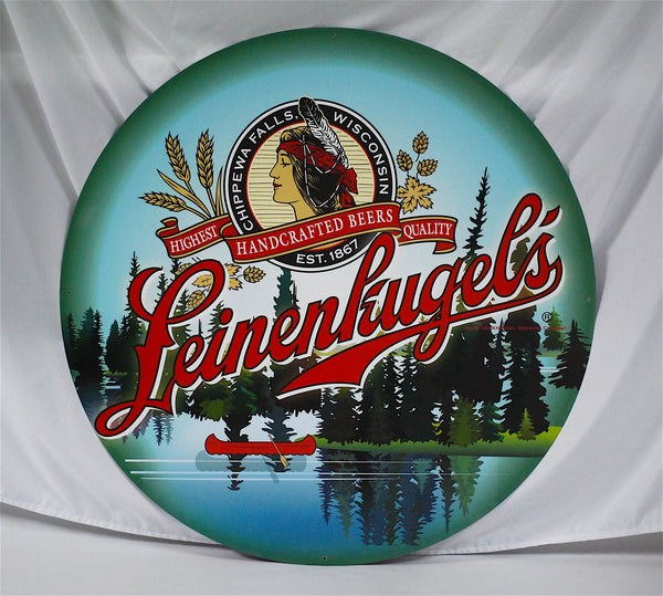 "Leinenkugel's 36"" Tin Sign"