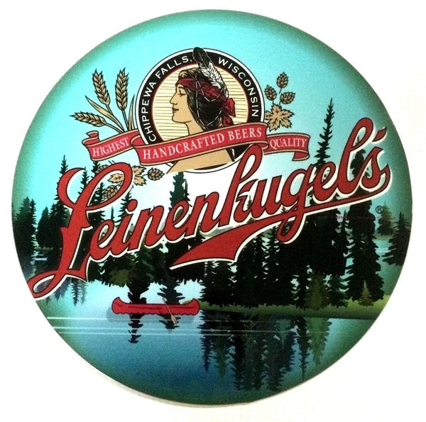 "Leinenkugel 7"" Round Metal Sign"