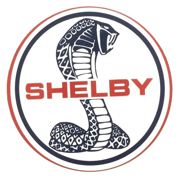 "Shelby Cobra 7"" Round Metal Sign"