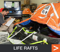 life raft supplies