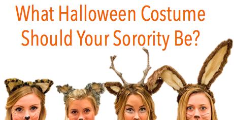 what halloween costume should your sorority wear