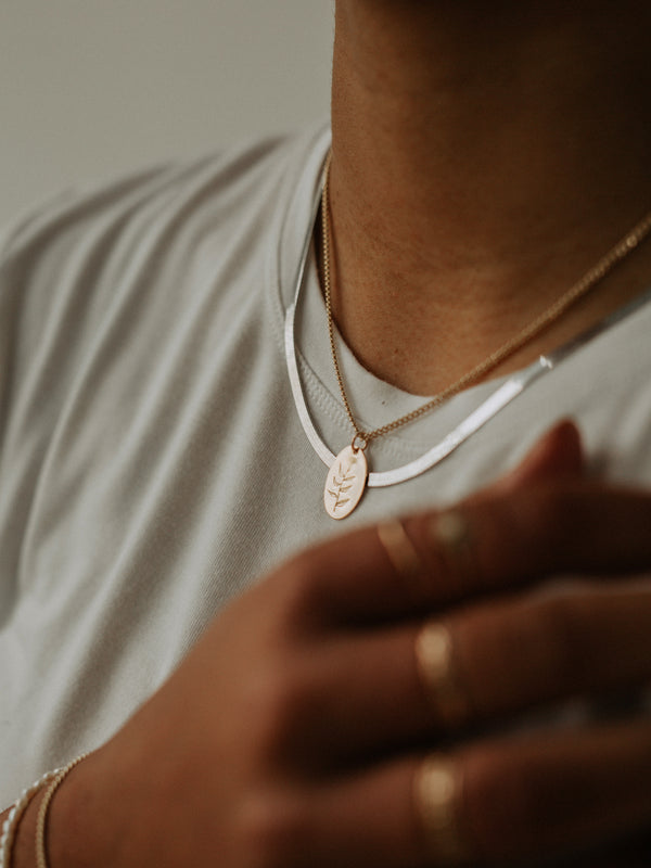 Herringbone chain | Heavy | Silver