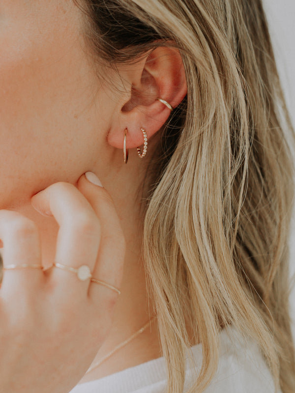 Brooklyn ear cuff | silver