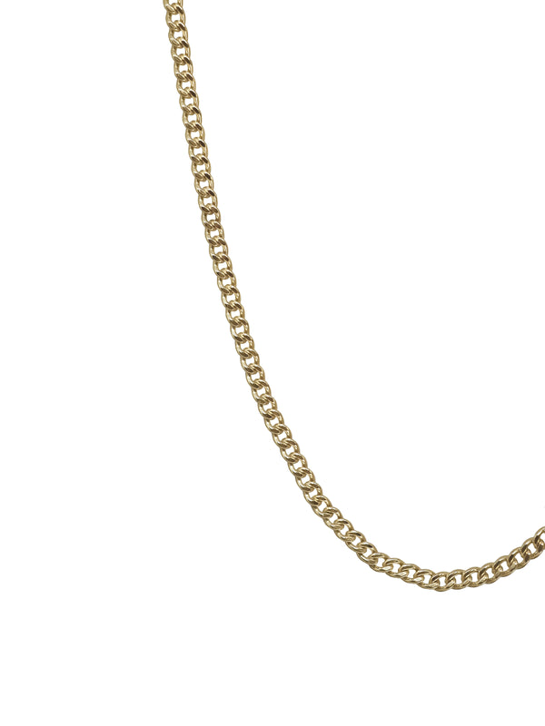 Curb chain | mid-weight | Gold filled