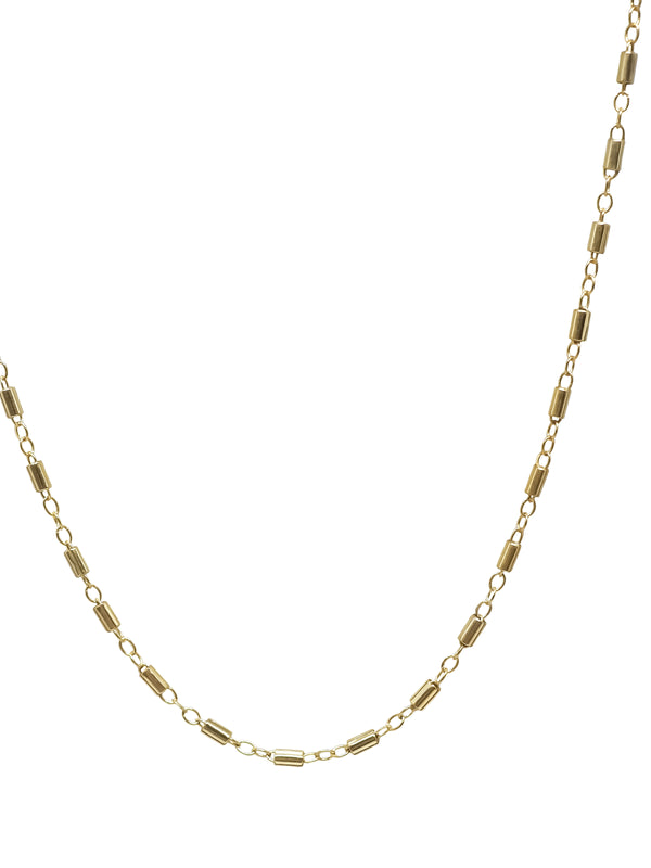 bar chain | gold filled