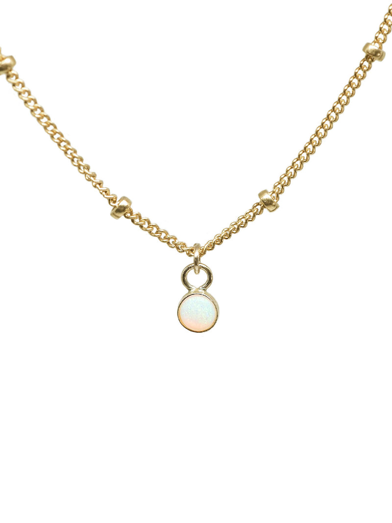 opal sky necklace