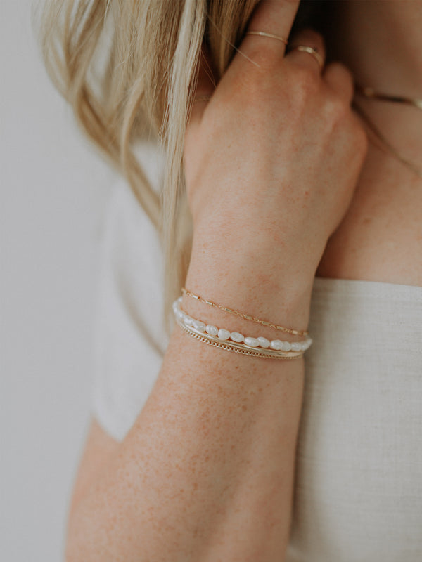 Janis bracelet | gold filled