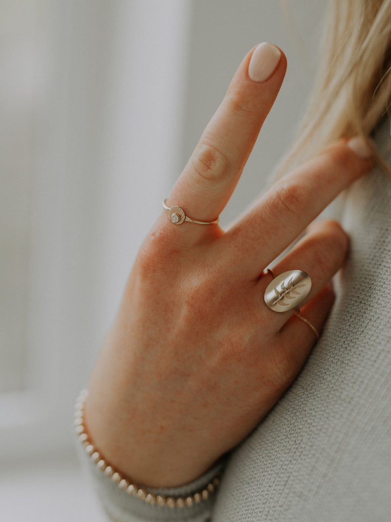 Joan ring | gold filled
