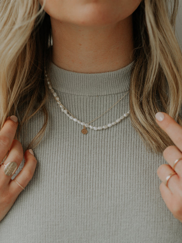 Janis necklace | gold filled