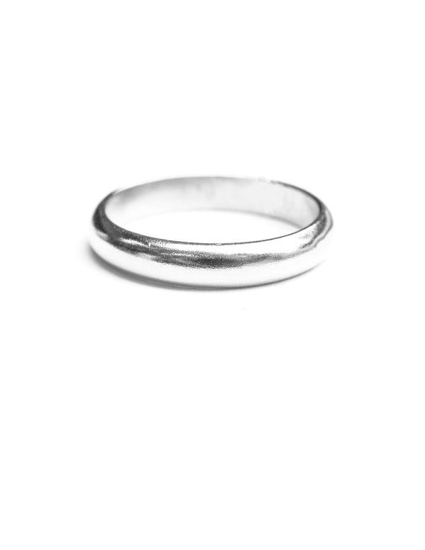 basin ring | sterling silver