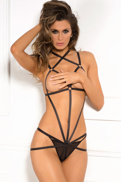 Wrapped In Lust Body Harness - René Rofé Sexy Lingerie