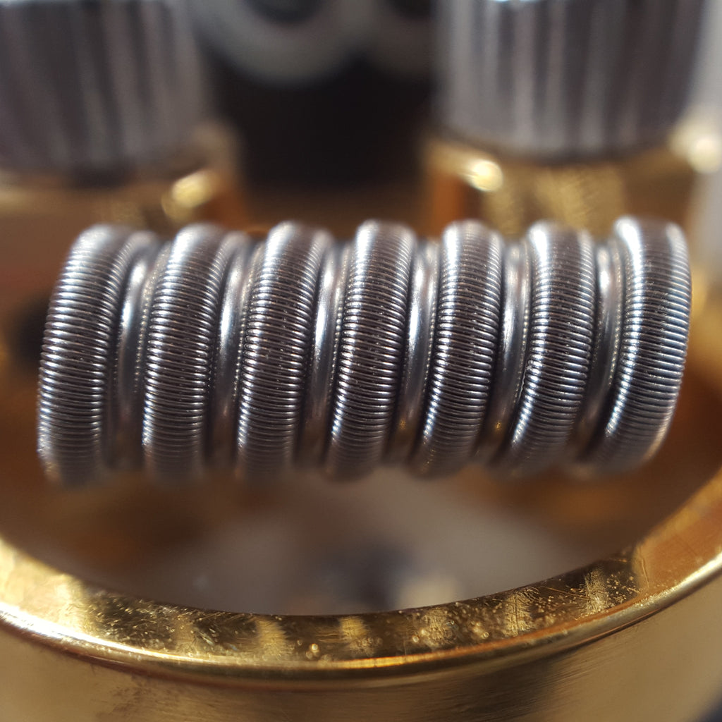Fused Clapton Coils, Staged (Pair)