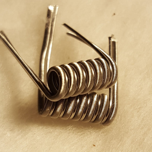 Fused Clapton Coils, Staged (Pair) - PureCoils.com - 1