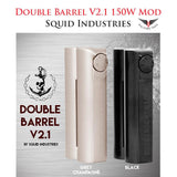 Squid Industries 150W Double Barrel V2 .1 Kit