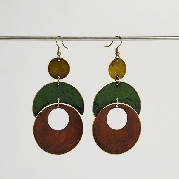 Asya Patina Earrings