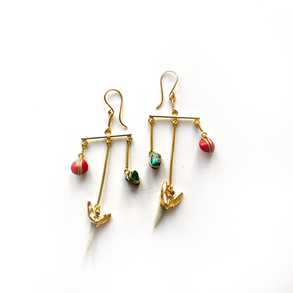 Khashi Hills Seed Earrings