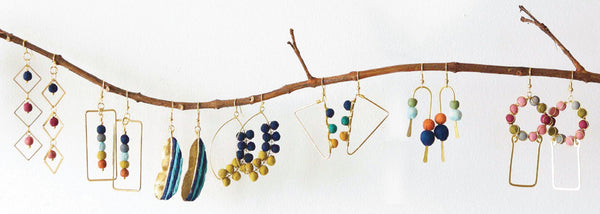 Recycled Fabric Jewelry
