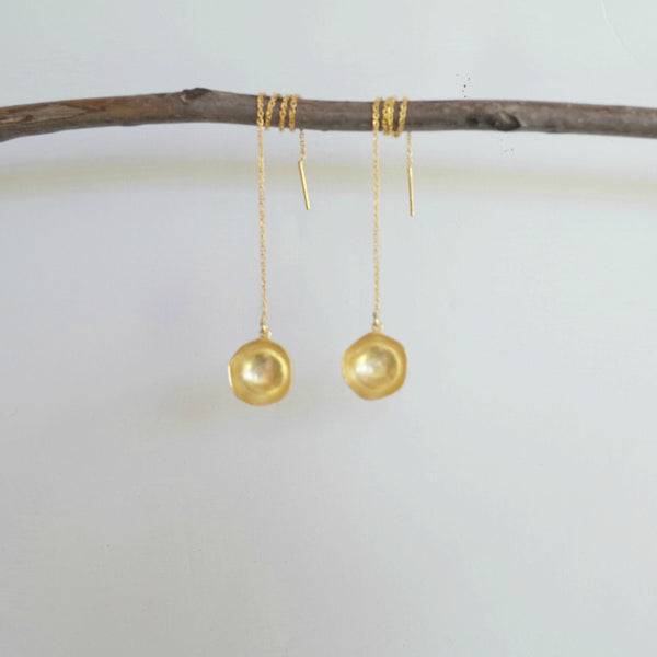 Sierra Dome Threader earrings - AnnahMol