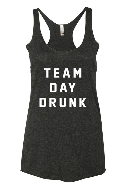 TEAM DAY DRUNK - RACERBACK TANK