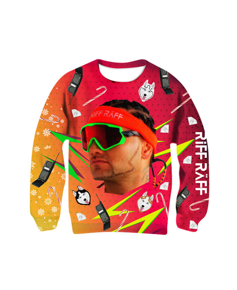 RIFF RAFF Christmas Sweater - (Limited Edition)