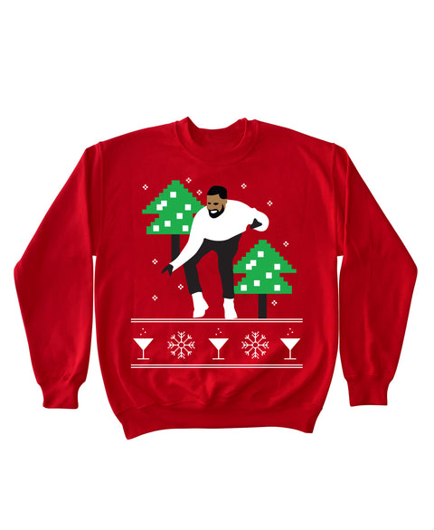 Hotlinebling - Crewneck Sweater (RED)