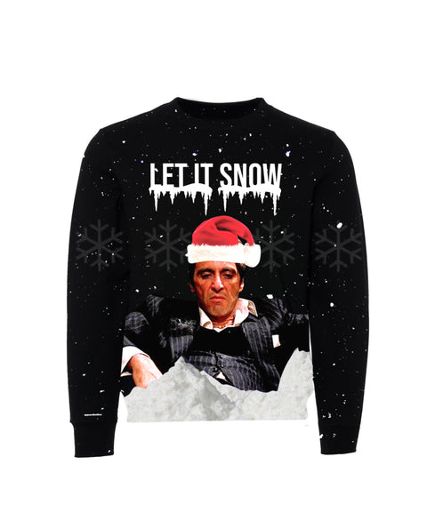 Let it Snow - Ugly Christmas Crewneck Sweater (Unisex) Early Sale