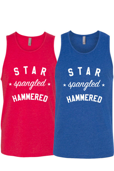 STAR SPANGLED HAMMERED - MENS TANK ( UNISEX )