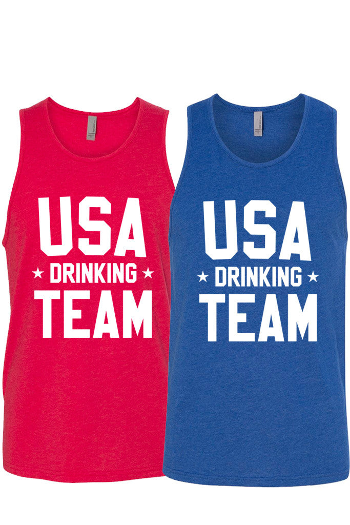 USA DRINKING TEAM - MENS TANK ( UNISEX)