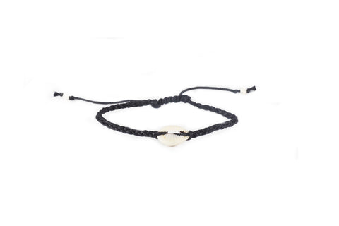 A Hui Hou Braided Shell Bracelet
