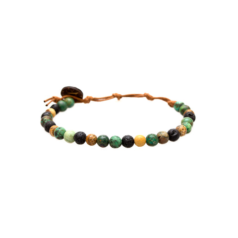 Peace + Strength 6mm Bracelet