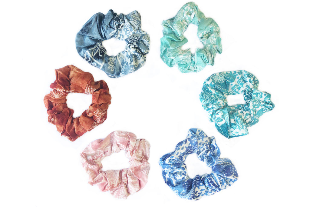 Watercolor Scrunchie Bundle