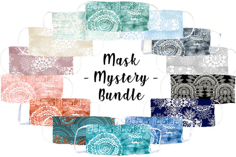 Mask Mystery Bundle (Pleated 5-Pack)