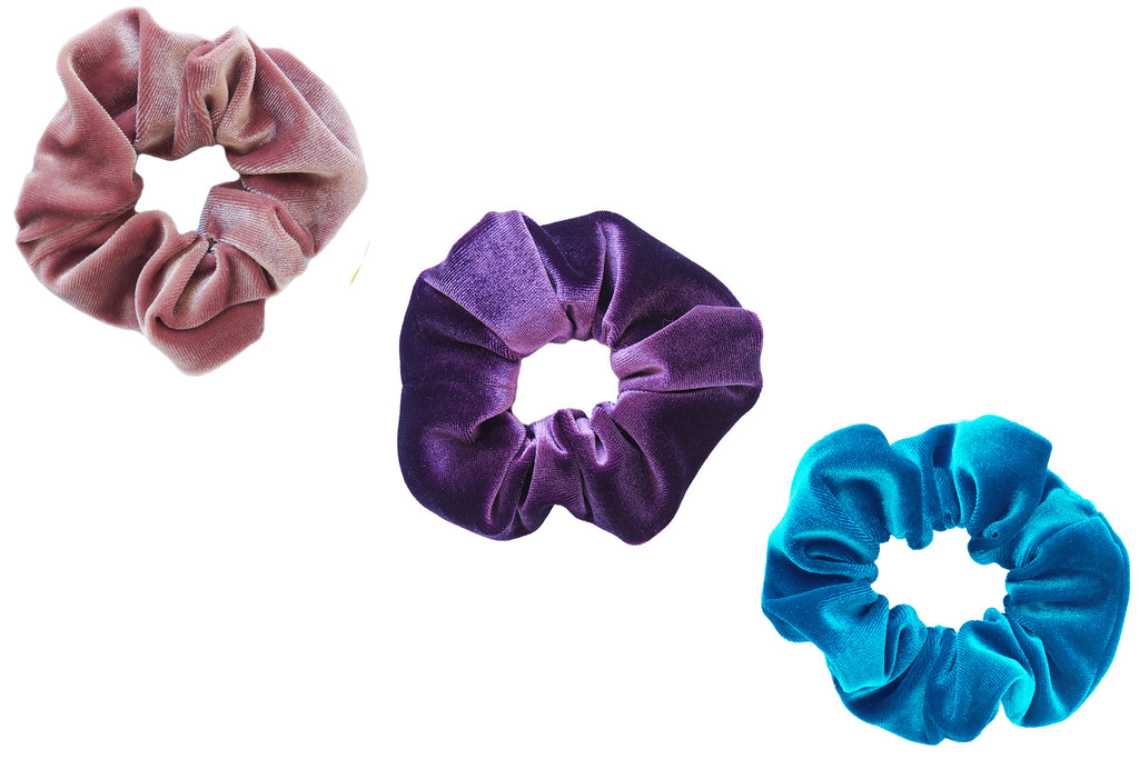Perfect Pop Velvet Scrunchie Bundle
