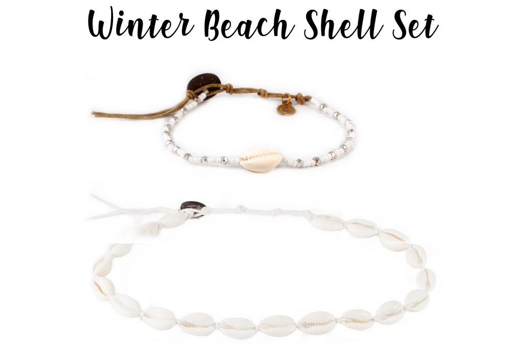 Winter Beach Shell Set