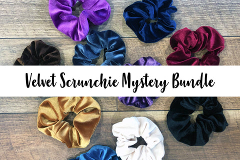 Velvet Scrunchie Mystery Bundle